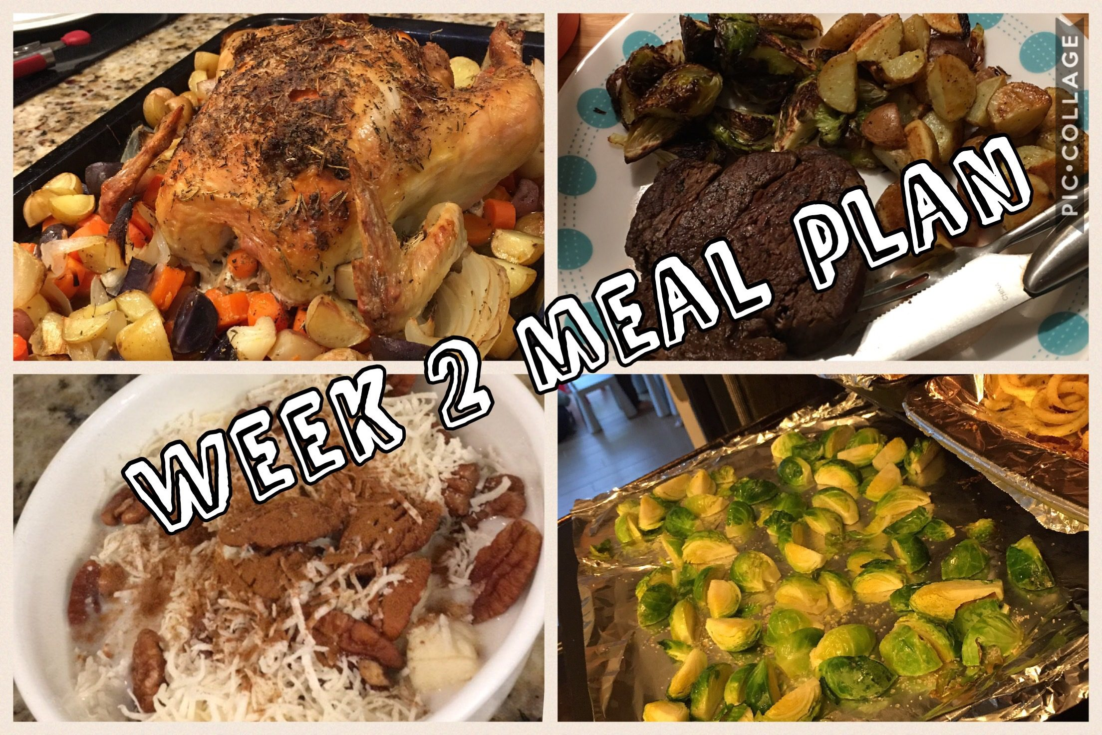 Week 2 Whole30 Meal Plan – Bring on the Potatoes!